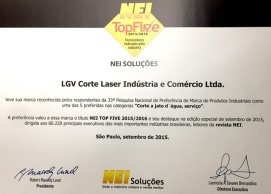 Corte a Laser - Corte Jato D´Água
